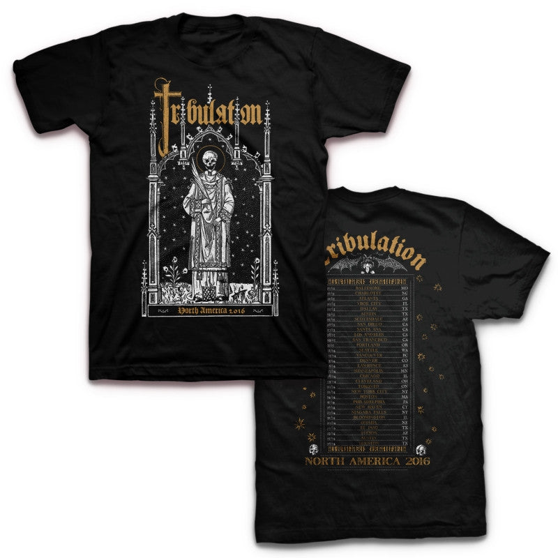 Tribulation 2016 Tour T-shirt Black