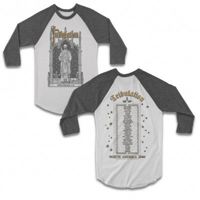 Tribulation 2016 US Tour Raglan (Heather/White)