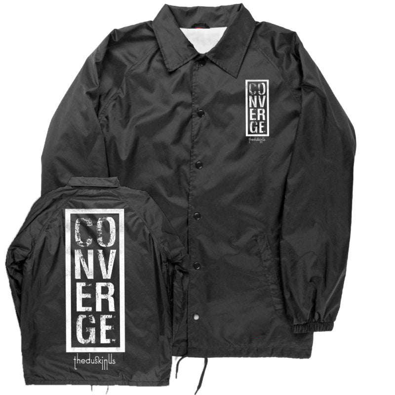 Converge - The Dusk In Us Windbreaker (Black)