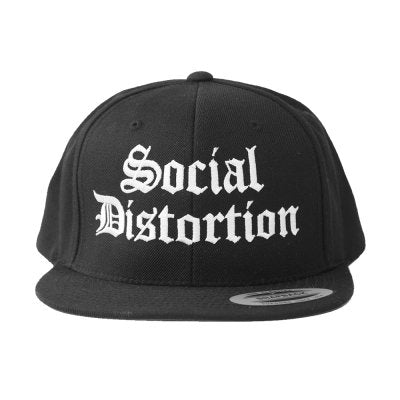Social Distortion – Old English Logo Snapback