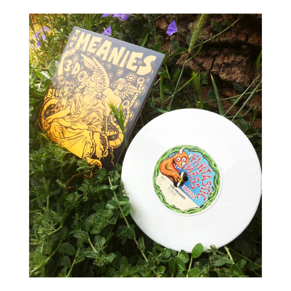 "The Meanies - 3D Blues 7"" (White) Photo"