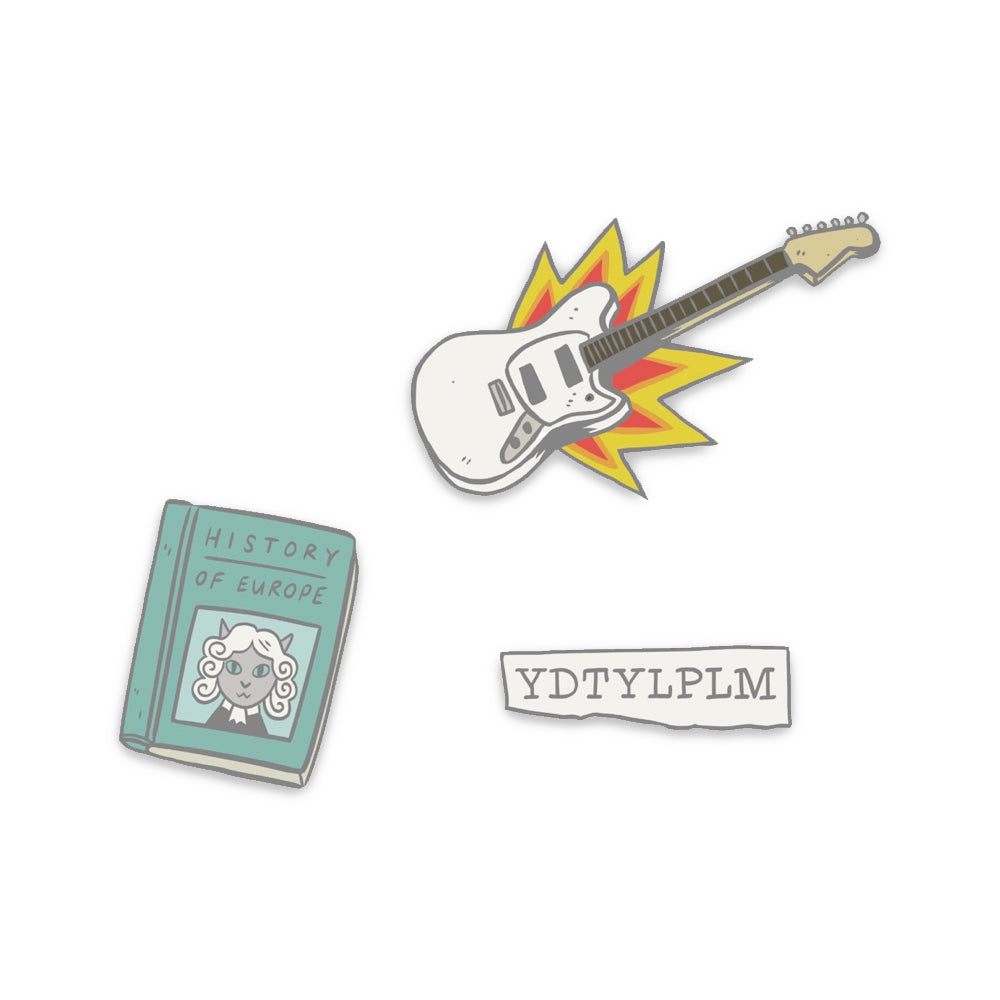 Alex Lahey - 3 Pin Set