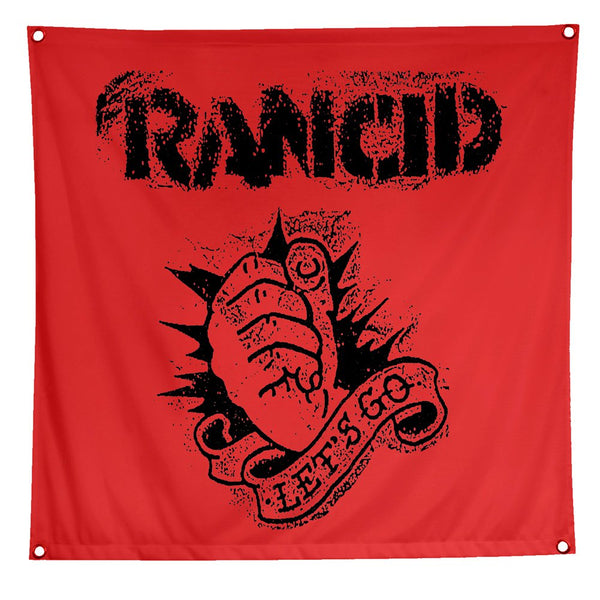 Rancid - Let's Go Flag (Red)