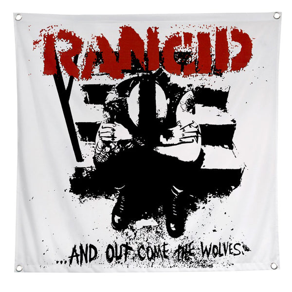 Rancid - And Out Come The Wolves Flag