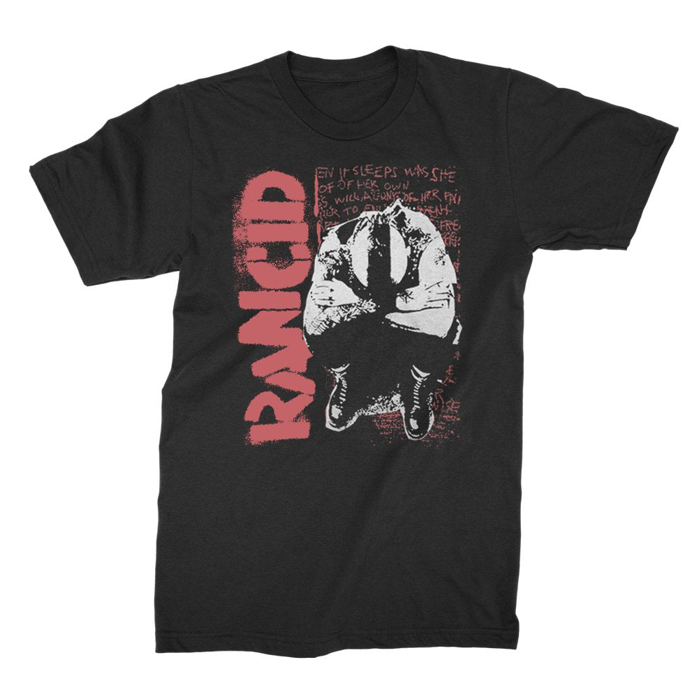 Rancid - Don't Care Nothing T-shirt (Black)