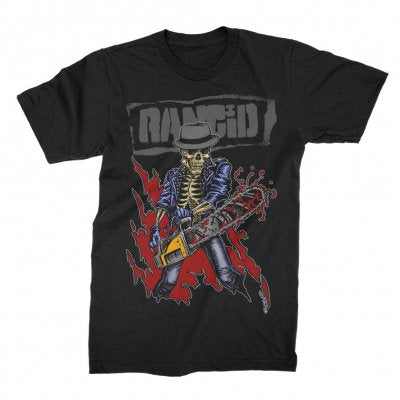 Rancid – Chainsaw Skele-Tim T-Shirt (Black)