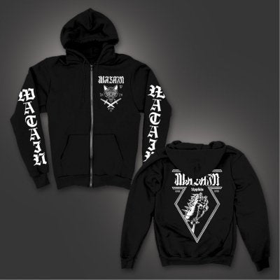 Watain – Uppsala Zip-Up Hoodie (Black)