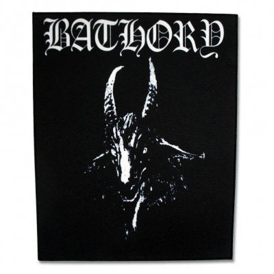 Bathory - Goat Back Patch