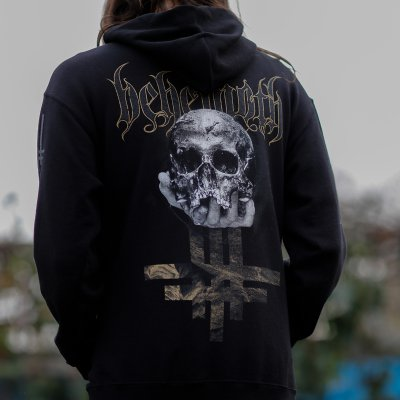 Behemoth - ILYAYD Skull Zip-Up Hoodie (Black)