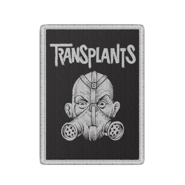 The Transplants - Gas Mask Patch