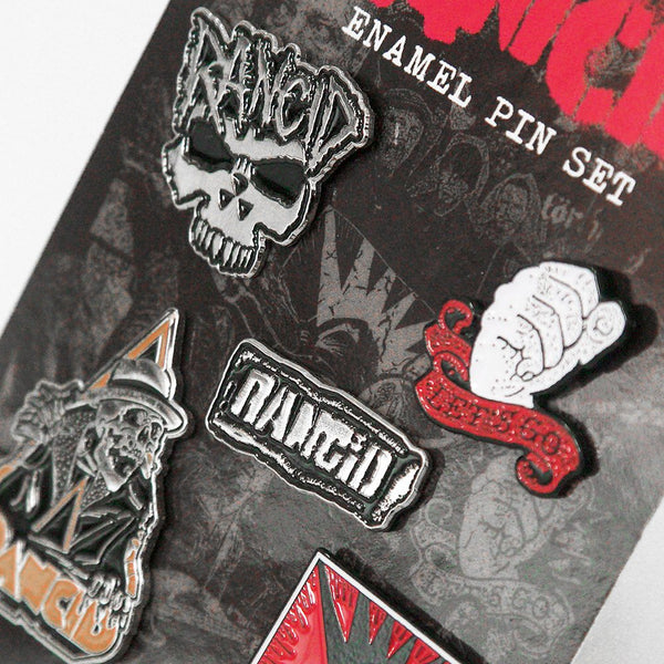 Rancid - Enamel Pin Set