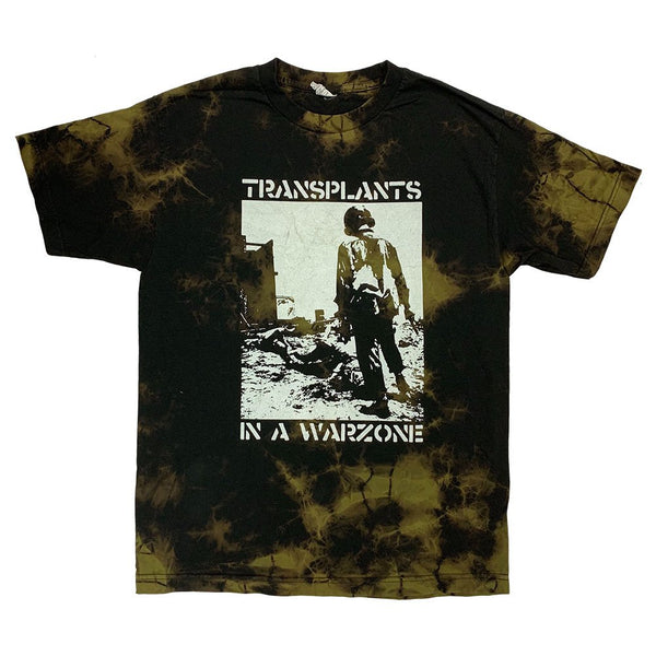 Transplants – Soldier T-Shirt (Bleach Dye)