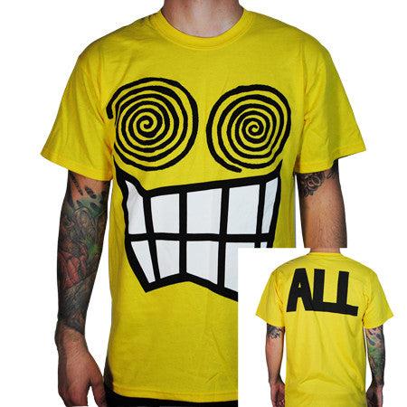 ALL Allroy T-shirt Yellow