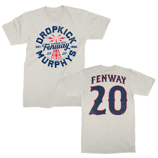 Dropkick Murphys - Fenway Tower Streaming Tee (Oatmeal)