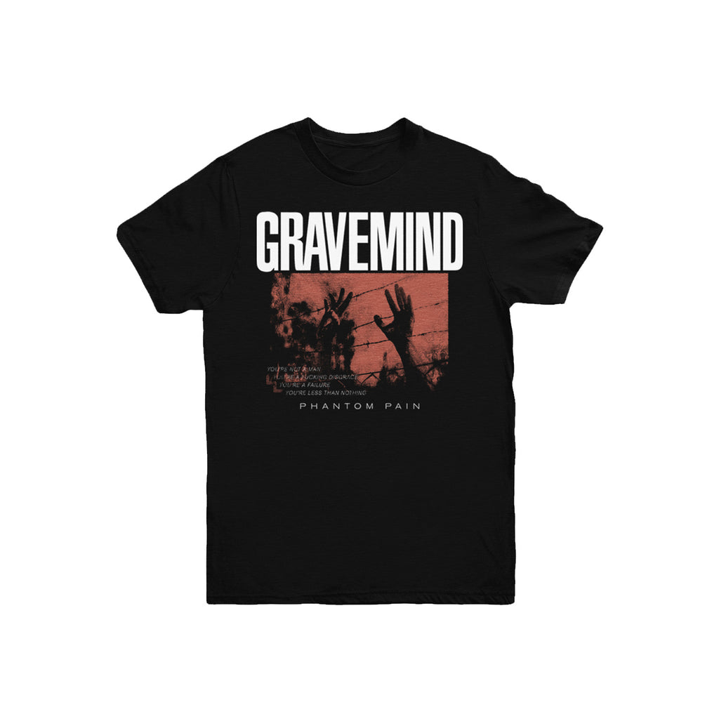 Gravemind - Phantom Pain Tee (Black)