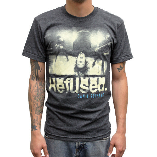 Refused Can I Scream T-shirt