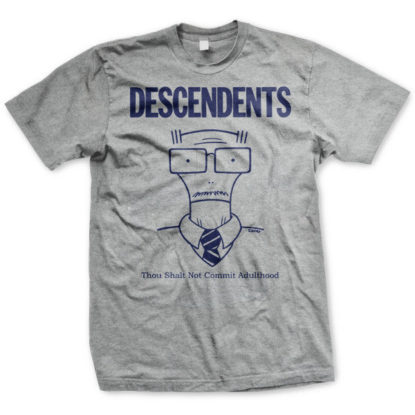 Descendents Thou Shalt Not Commit Adulthood T-shirt