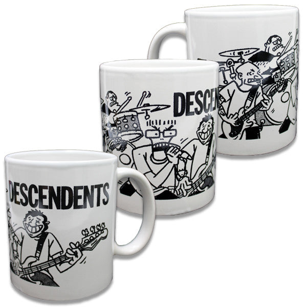 Descendents Live Cartoon Mug