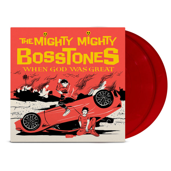 The Mighty Mighty BossToneS - When God Was Great 2LP (Red)