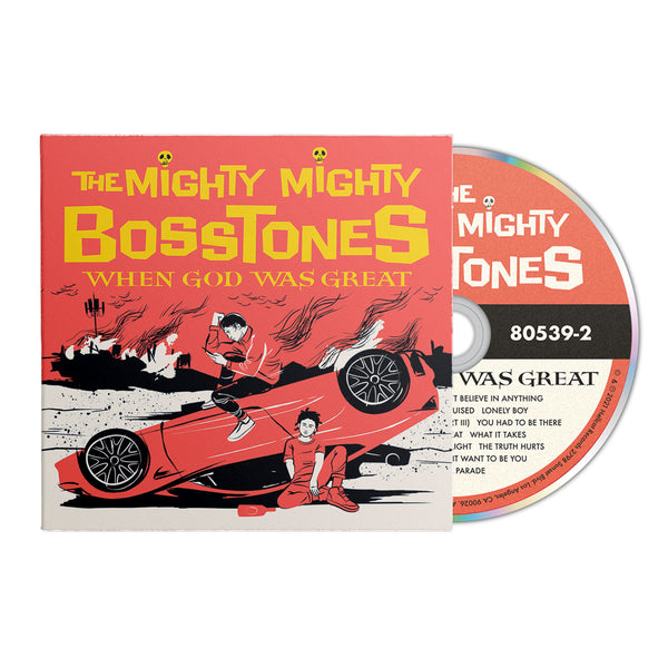The Mighty Mighty BossToneS - When God Was Great CD