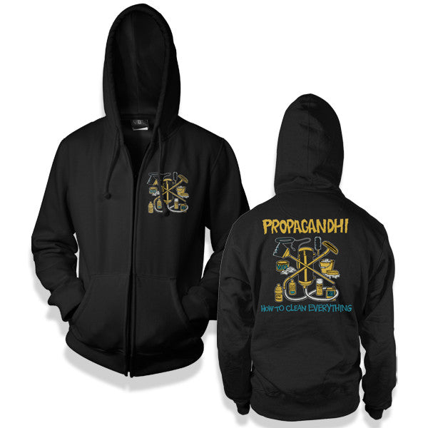 Propagandhi How To Clean Everything Hoodie