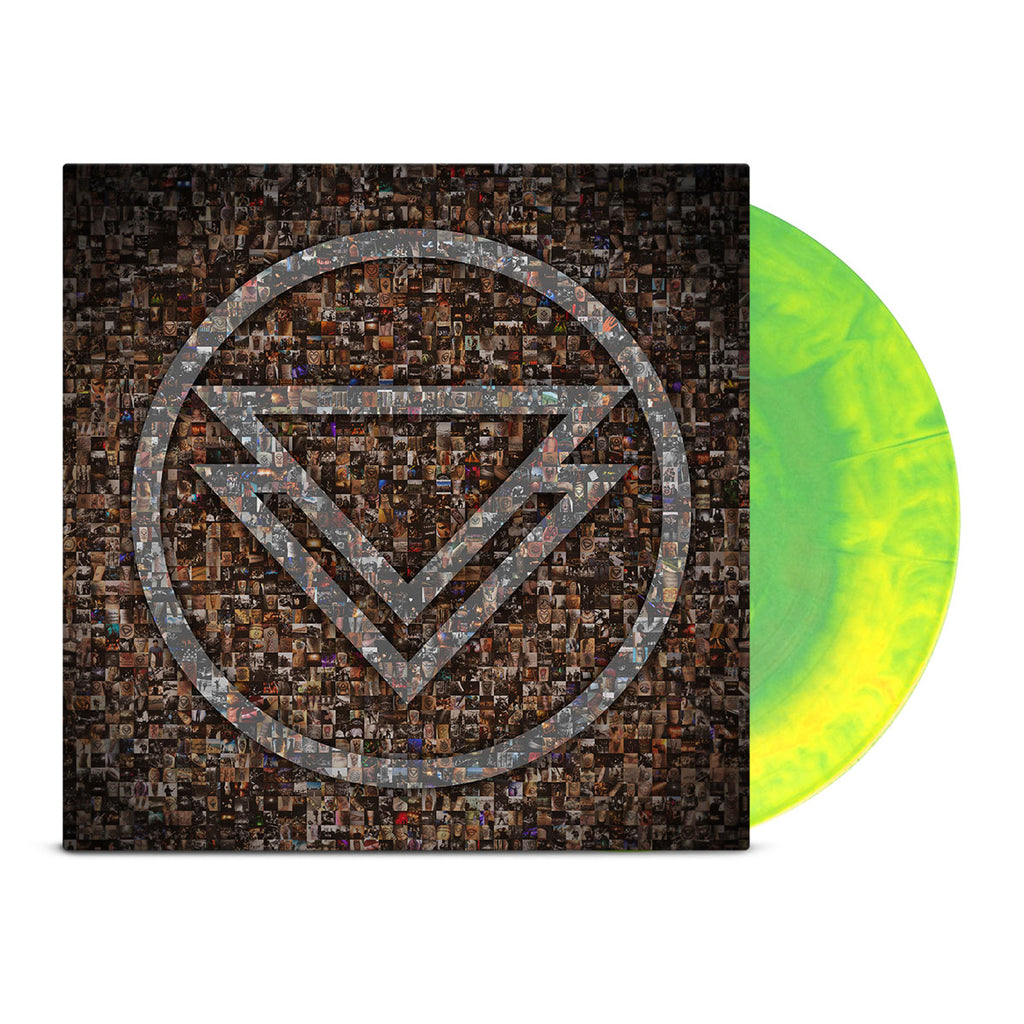 The Ghost Inside - The Ghost Inside LP (Green & Yellow)