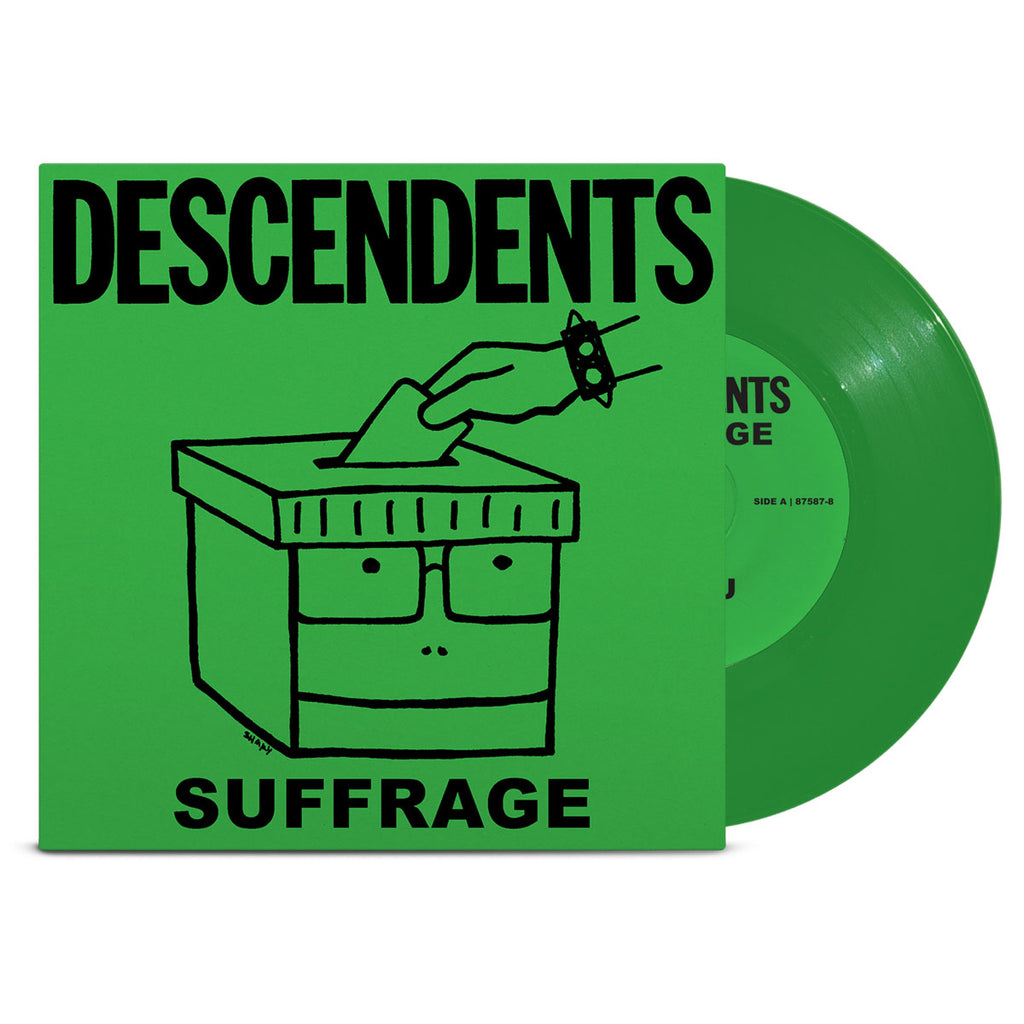 "Suffrage 7"" (Green)"