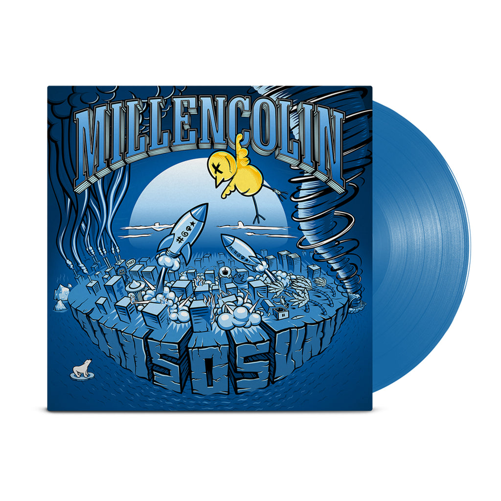 Millencolin - SOS LP (Blue)