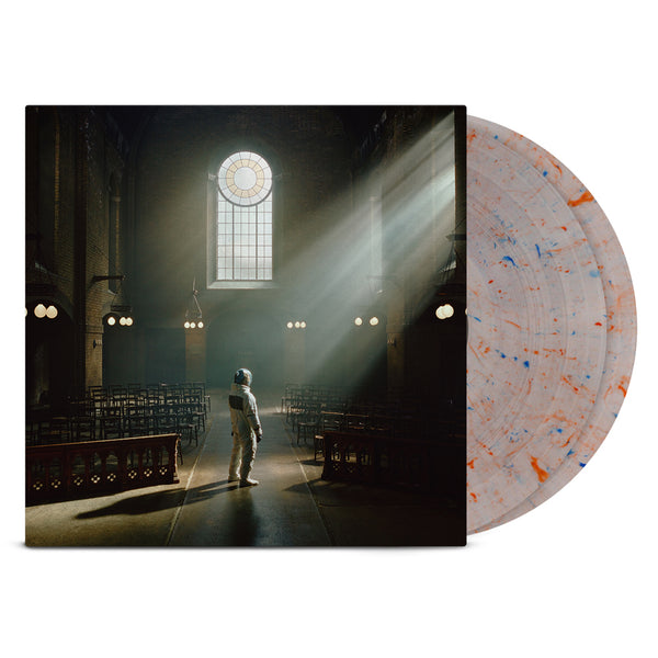Architects - For Those That Wish To Exist 2LP (Clear w/ Blue & Red Splatter)