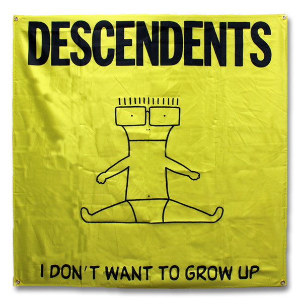 Descendents I Don't Want To Grow Up Flag