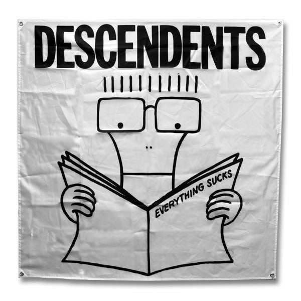 Descendents Everything Sucks Flag