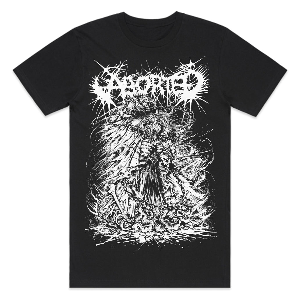 Aborted - Exploding Zombie T-Shirt