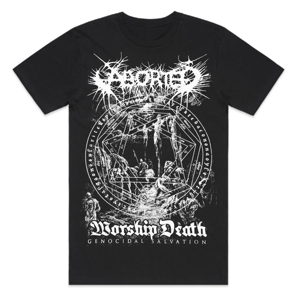 Aborted - Worship Death T-Shirt