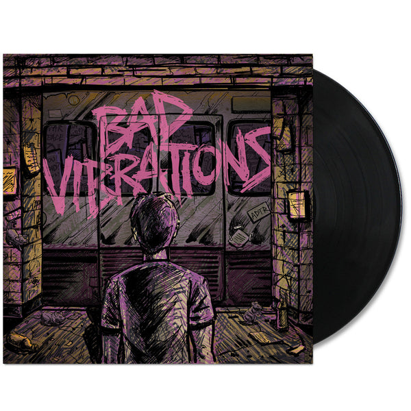 A Day To Remember Bad Vibrations LP Black