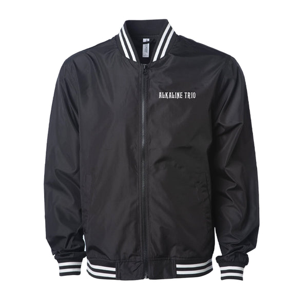 Alkaline Trio - Heartskull Lightweight Bomber Jacket (Black)
