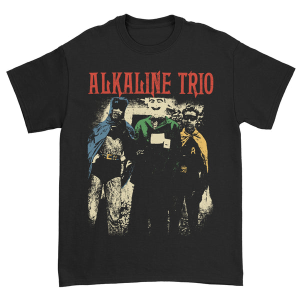Alkaline Trio - Comic Book T-Shirt (Black)