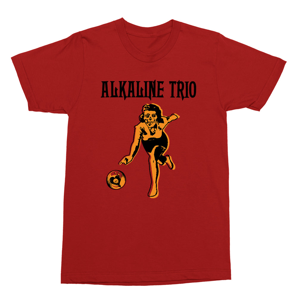 Alkaline Trio - Bowler T-Shirt (Red)
