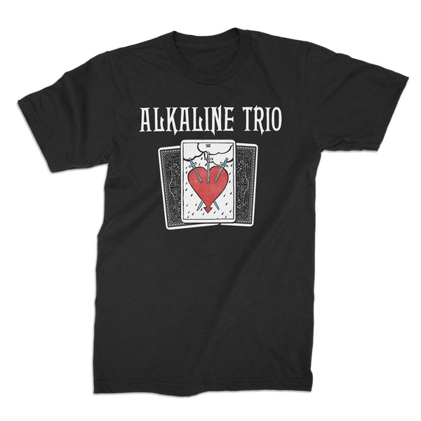 Alkaline Trio - Tarot Card T-shirt (Black)