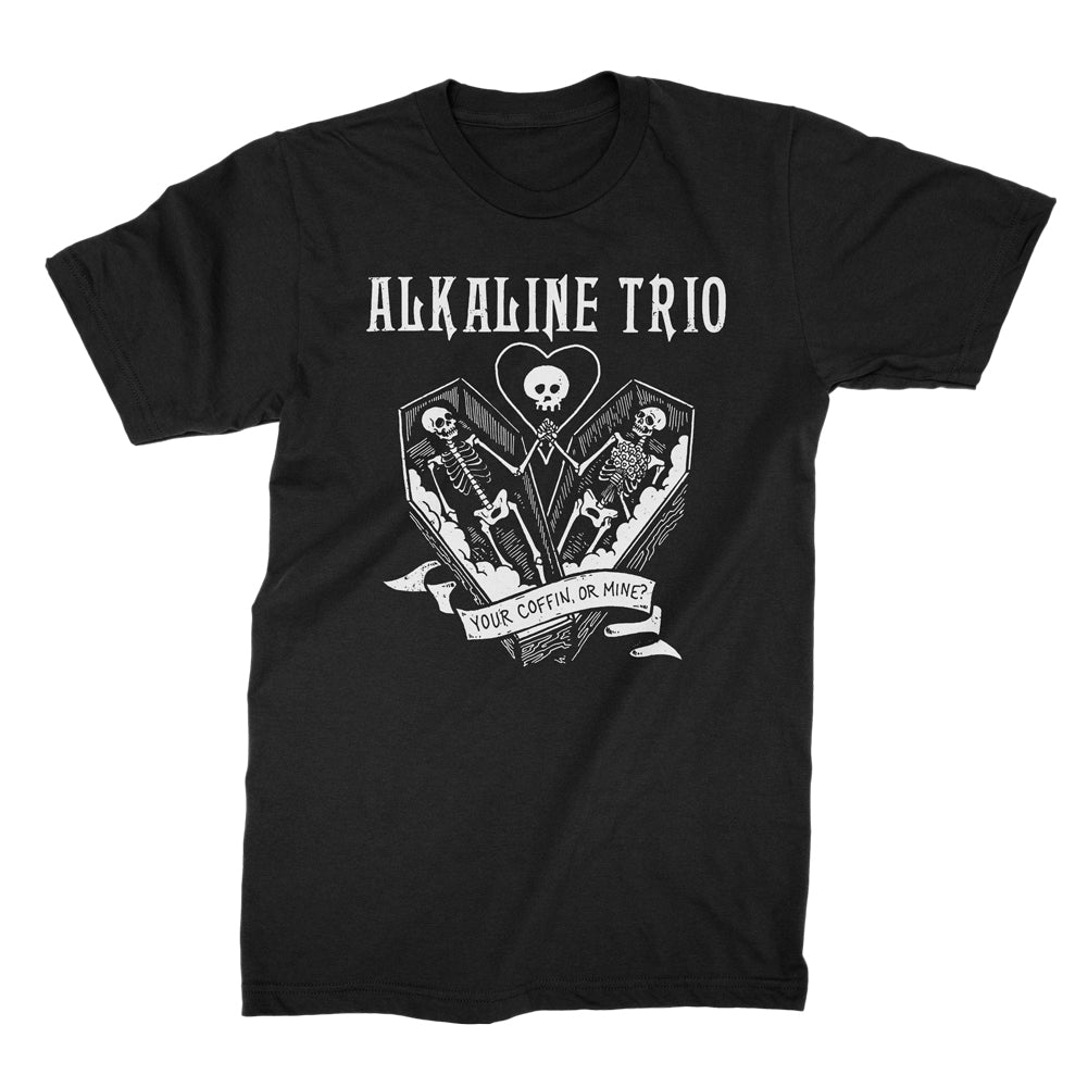 Alkaline Trio - Your Coffin Or Mine T-shirt (Black)
