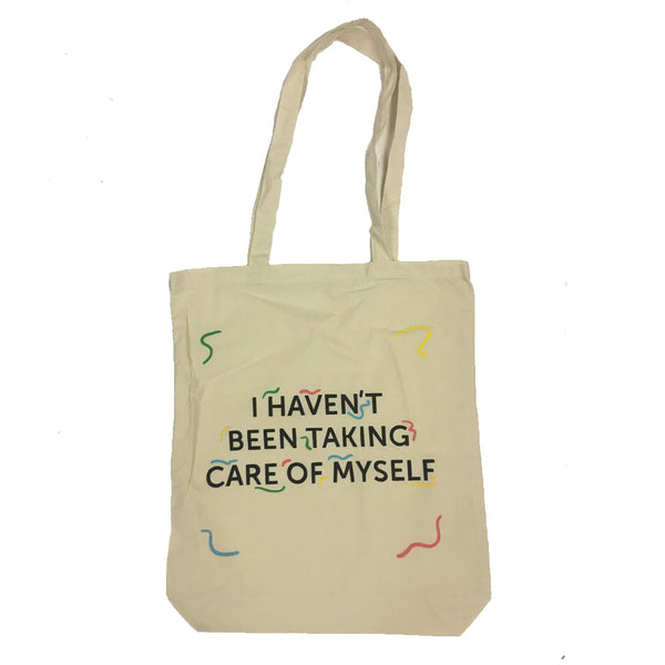 Alex Lahey I Havent Been Taking Care Of Myself Tote Bag