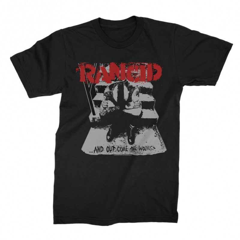 Rancid - And Out Come The Wolves T-shirt Black