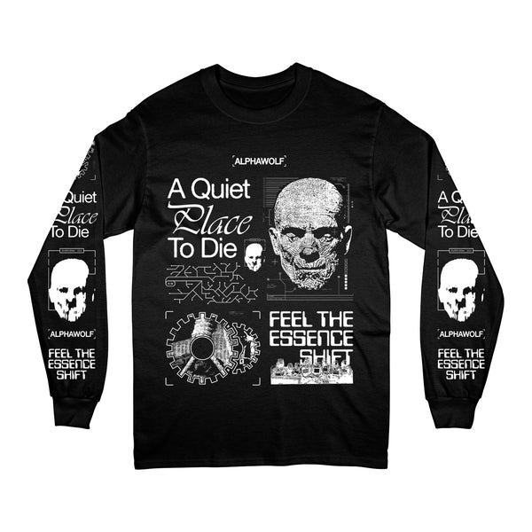 A Quiet Place To Die Longsleeve (Black)
