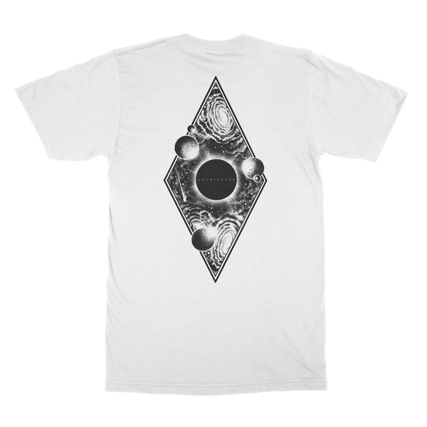 Architects - Cosmos Eclipse T-shirt (White) Back