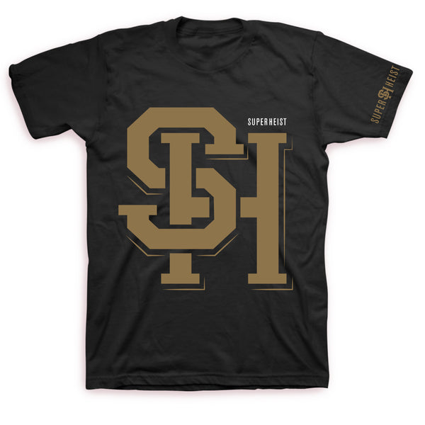 Superheist - Ghosts T Black/Gold