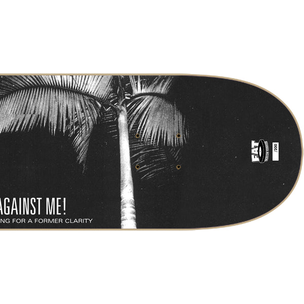 Against Me! Searching For A Former Clarity Skate Deck (Ltd Ed) Right Detail