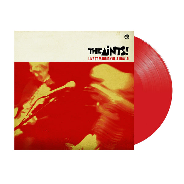 The Aints - Live At Marrickville Bowlo LP (Red Vinyl)