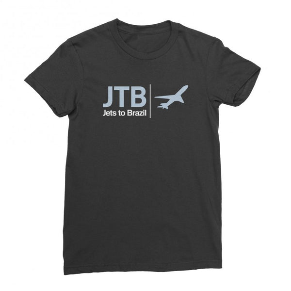 Jets To Brazil - Airplane Tee (Black)
