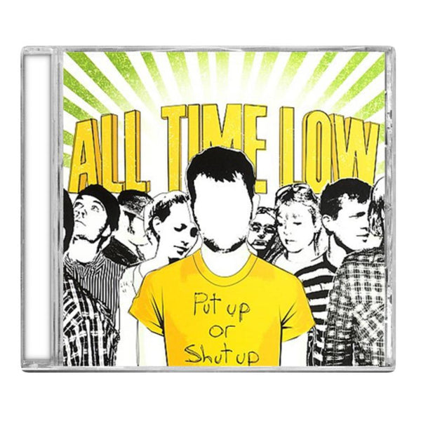 All Time Low- Put Up Or Shut Up CD