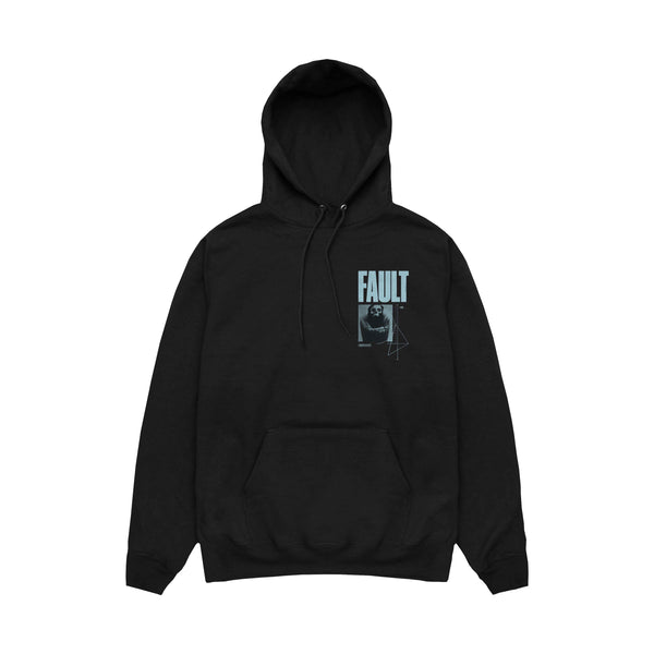 Alpha Wolf - Fault Pullover Hoodie (Black) front