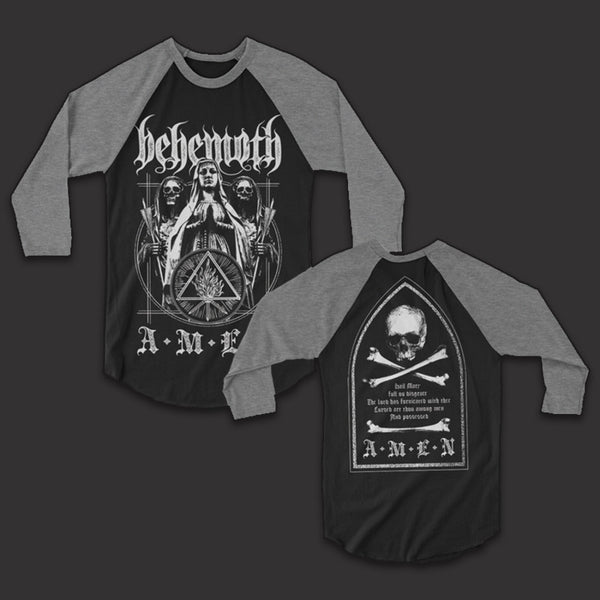 Behemoth Amen Raglan Black/Snow